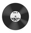retro vinyl record concept vector image vector image