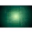 Vibrant green square drawing vector image vector image