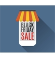 Black friday sale Mobile phone vector image