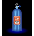 Nitrous Oxide System Nitro Boosts NOS vector image