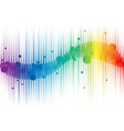 rainbow abstract background for web vector image vector image
