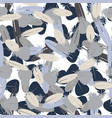 seamless minimalistic pattern with feathers vector image vector image