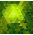 Shiny green mosaic background vector image vector image