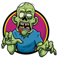 Zombie vector image vector image