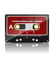 Audio cassette-My Music vector image vector image