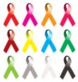 awareness ribbon vector image
