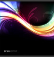 Colorful and vivid background vector image vector image