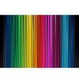 Colorful Black Stripe vector image vector image