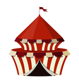 a circus on a white background vector image