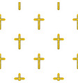 holy cross pattern seamless vector image vector image