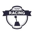 racing league design vector image vector image