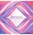 Violet abstract frame vector image vector image