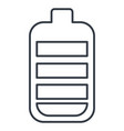 battery level isolated icon vector image