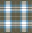 blue and gray tartan plaid seamless pattern vector image vector image