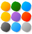 button badge backgrounds with modern smooth vector image