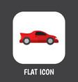 car symbol on automobile vector image vector image