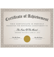 certificate template concept vector image vector image