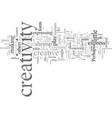 everyday creativity vector image vector image