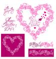 Flower frame heart 2 380