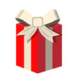 gift icon love and gifts for web on white vector image