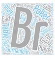 online poker tournaments 1 text background vector image vector image
