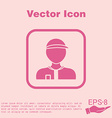 A male avatar Picture a man Round icon image Man vector image