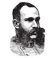 charles francis joseph vintage vector image vector image
