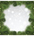 christmas tree background 0108 vector image vector image