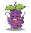 ecstatic grape character cartoon collection