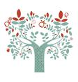 Fantasy tree vector image vector image