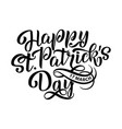 happy saint patrick s day vector image
