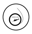 icon of fishing line vector image vector image