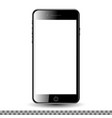 mobil phone with blank screen vector image