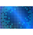Abstract background with glass squares vector image