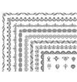 border elements design vector image vector image