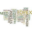 forex course a quick forex guide for traders text vector image vector image