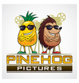 Pine Hog Pictures vector image vector image