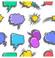 stock of text balloon style doodles vector image vector image