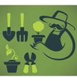 garden and farm vector image