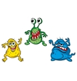 Cartoon monsters vector image vector image