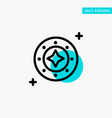 cosmos galaxy shine space star universe turquoise vector image vector image