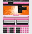 creative web design vector image vector image