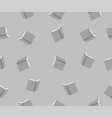grey books seamless flat style pattern vector image vector image