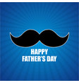 happy fathers day blue background vector image