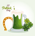 happy saint patricks day celebration vector image