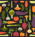modern seamless pattern with fresh delicious vector image vector image