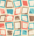 colored squares seamless pattern vector image