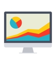 FInancial Data Icon vector image