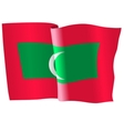flag of Maldives vector image vector image