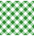 green seamless table cloth texture vector image vector image